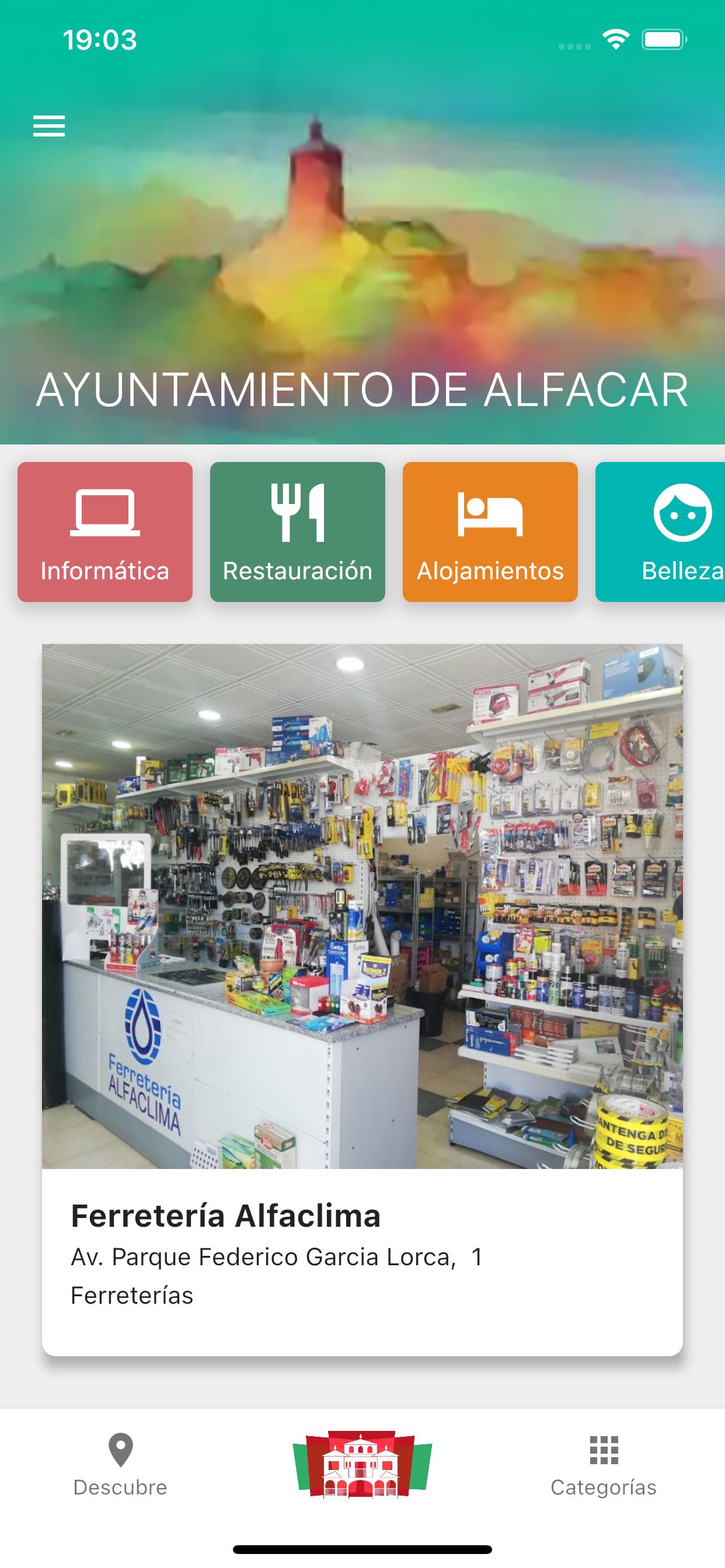 App comercio local