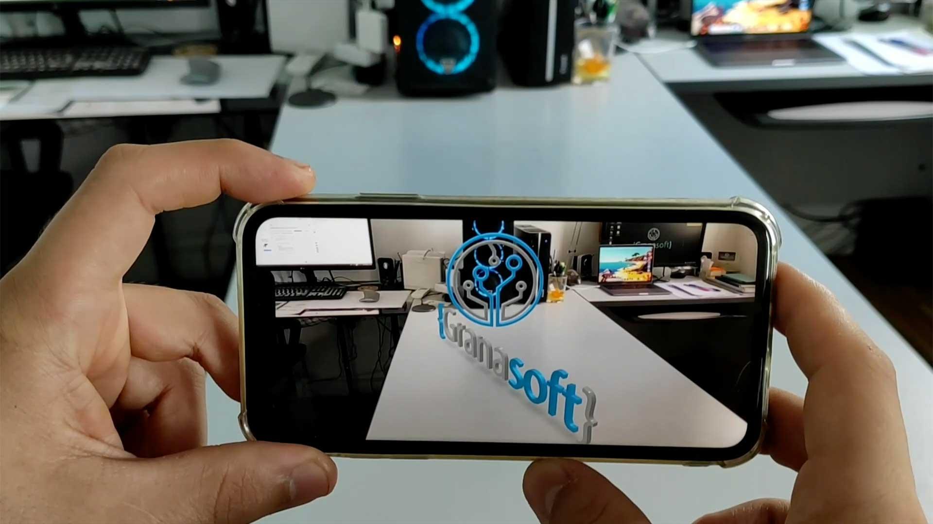 App realidad aumentada